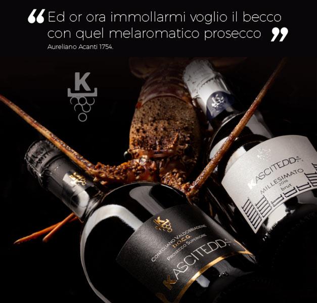 prosecco italiano kascitedda